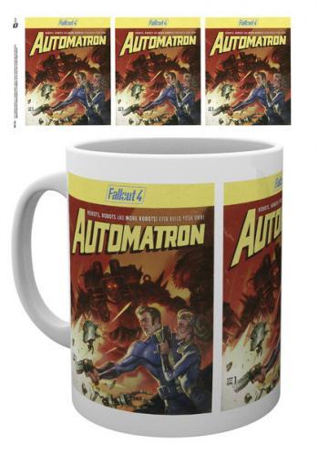 Posters Hrnek Fallout 4 - Automatron
