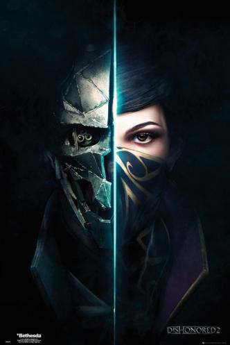 Posters Plakát, Obraz - Dishonored 2 - Faces, (61 x 91,5 cm)