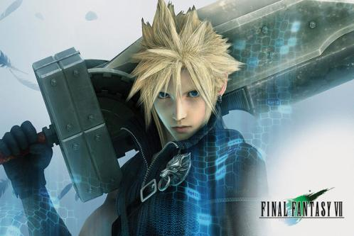 Posters Plakát, Obraz - Final Fantasy VII - Cloud, (91,5 x 61 cm)
