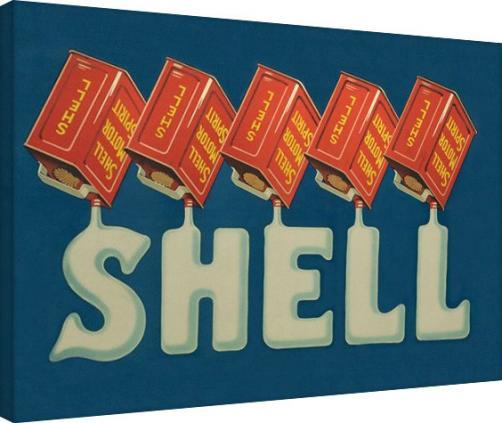 Posters Obraz na plátně Shell - Five Cans 'Shell', 1920, (80 x 60 cm)