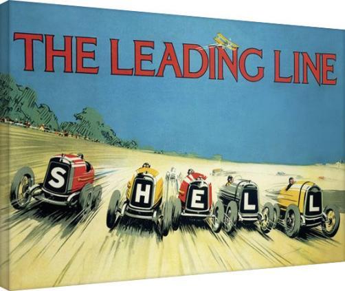 Posters Obraz na plátně Shell - The Leading Line, 1923, (80 x 60 cm)