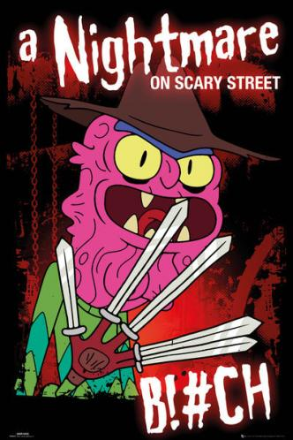 Posters Plakát, Obraz - Rick & Morty - Scary Terry, (61 x 91,5 cm)