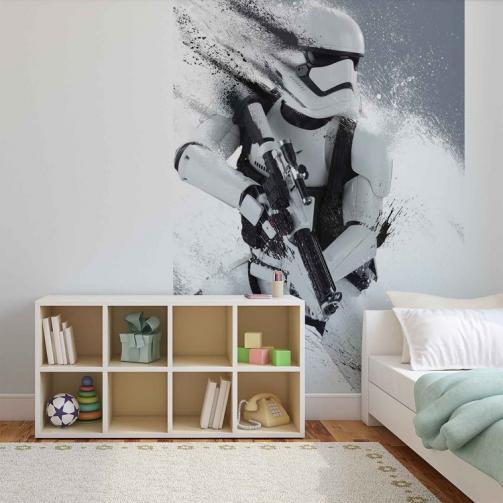 Posters Fototapeta, Tapeta Star Wars Force Awakens, (211 x 90 cm)