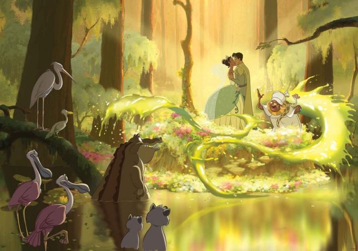 Posters Fototapeta, Tapeta Disney Princezna Tiana, (312 x 219 cm)