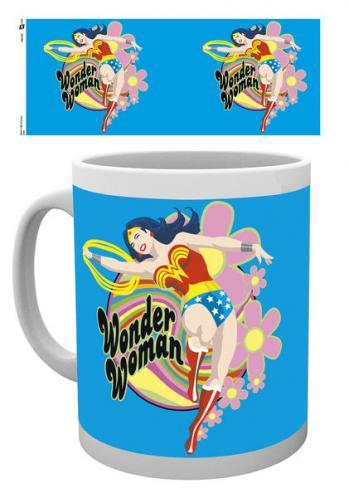 Posters Hrnek Wonder Woman - Flowers