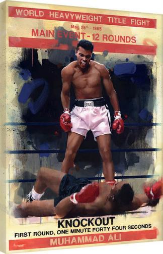 Posters Obraz na plátně James Paterson - Knockout, (60 x 80 cm)