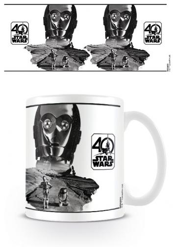 Posters Hrnek Star Wars - C-3PO (40th Anniversary )