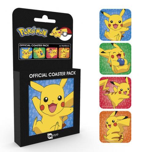 Posters Podtácek Pokemon - Pikachu