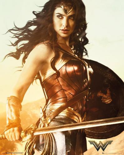 Posters Plakát, Obraz - Wonder Woman - Sword, (40 x 50 cm)