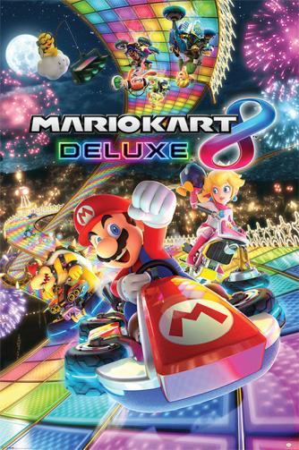 Posters Plakát, Obraz - Mario Kart 8 - Deluxe, (61 x 91,5 cm)