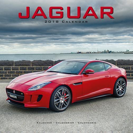 Kalendář 2018 Jaguar