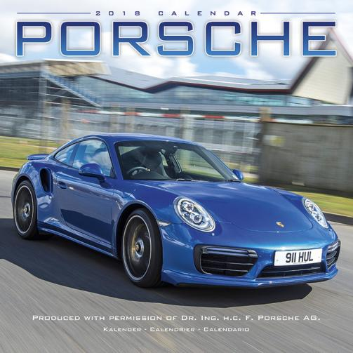 Kalendář 2018 Porsche