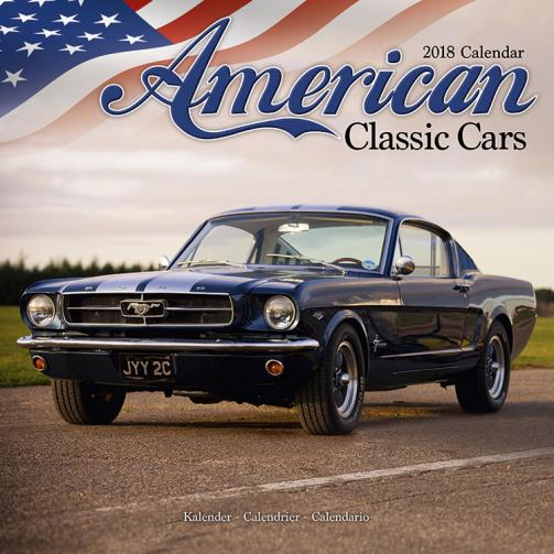 Kalendář 2018 American Classic Cars