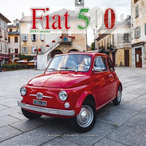 Kalendář 2018 Fiat 500