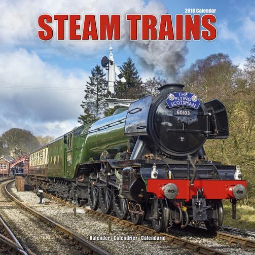 Kalendář 2018 Steam Trains