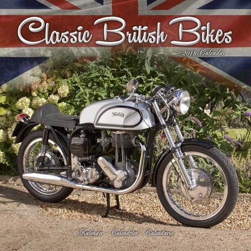 Kalendář 2018 Classic British Bikes
