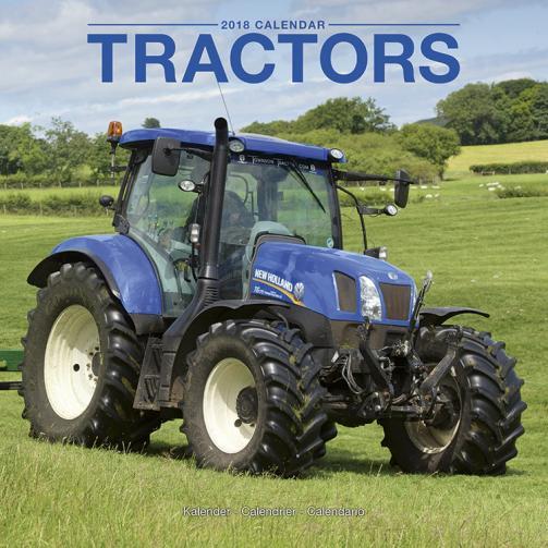 Kalendář 2018 Traktory