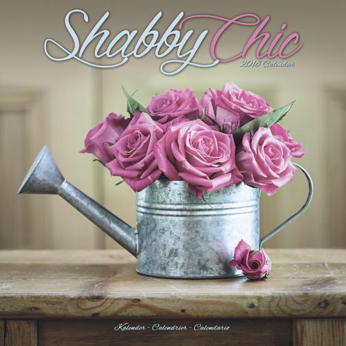 Kalendář 2018 Shabby Chic