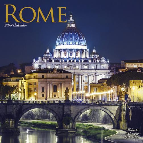 Kalendář 2018 Řím