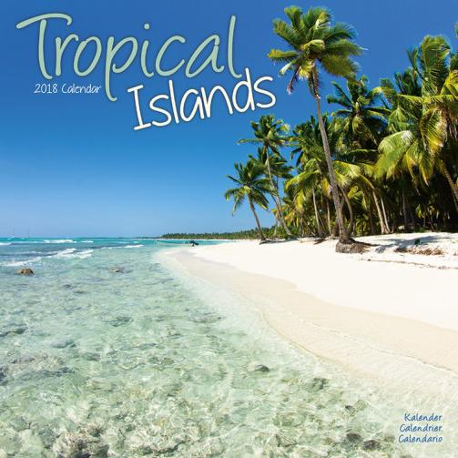 Kalendář 2018 Tropical Islands