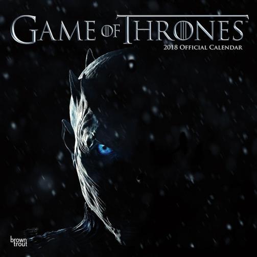 Kalendář 2018 Hra o Trůny (Game of Thrones)
