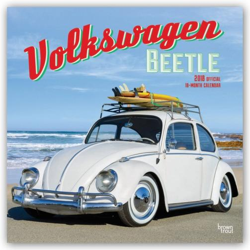 Kalendář 2018 Volkswagen Beetle