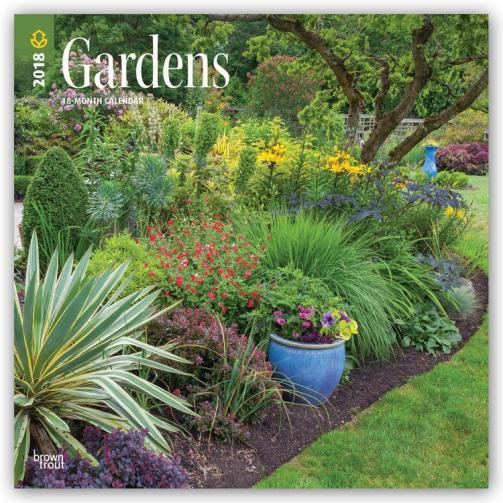Kalendář 2018 Gardens