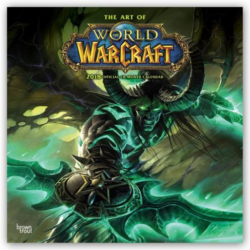 Kalendář 2018 World of Warcraft
