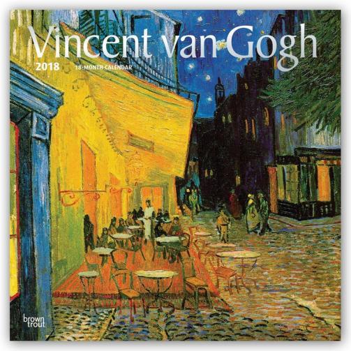 Kalendář 2018 Vincent van Gogh