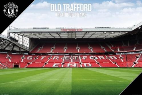 Plakát Manchester United - Old Trafford 17/18