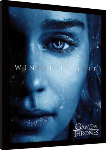 Posters Obraz na zeď - Hra o Trůny (Game of Thrones) - Winter is Here - Daenerys