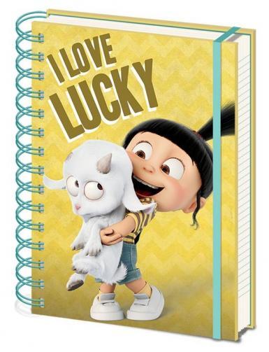 Posters Já, padouch 3 - I Love Lucky Zápisník