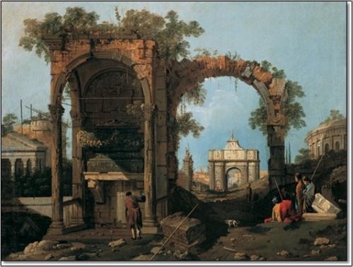 Posters Obraz, Reprodukce - Gianola - Paesaggio II, (80 x 60 cm)