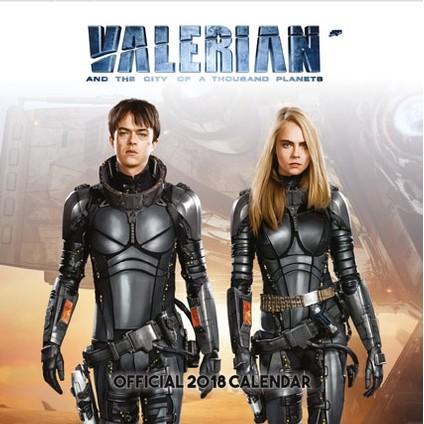 Posters Kalendář 2018 Valerian