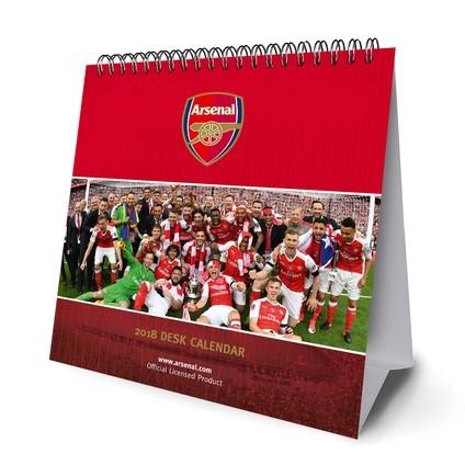 Posters Kalendář 2018 Desk Easel 2018 Calendar - Arsenal