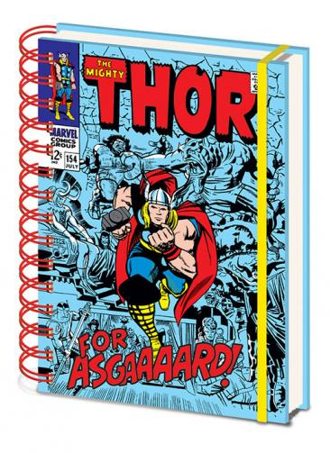 Posters Marvel Retro - Thor A5 Zápisník