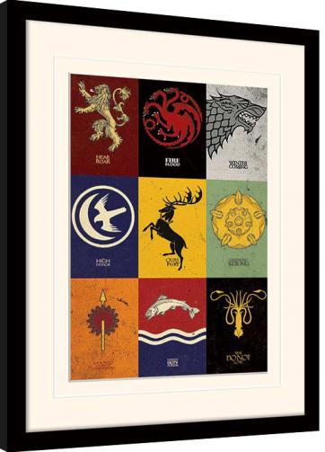 Posters Obraz na zeď - Hra o Trůny (Game of Thrones) - Sigils
