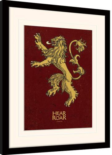 Posters Obraz na zeď - Hra o Trůny (Game of Thrones) - Lannister