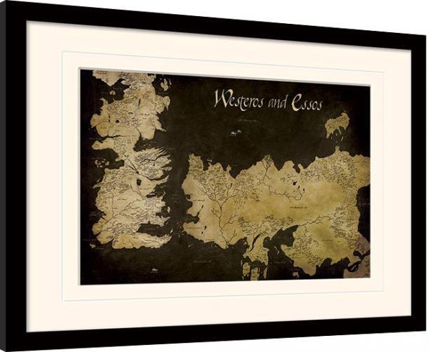 Posters Obraz na zeď - Hra o Trůny (Game of Thrones) - Westeros