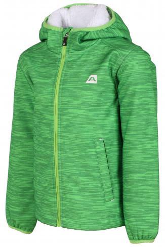 ALPINE PRO Chlapecká bunda Baltazaro - zelená