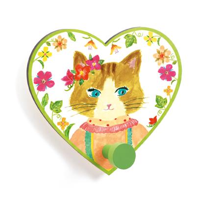 Djeco Malý věšák Slečna kočka