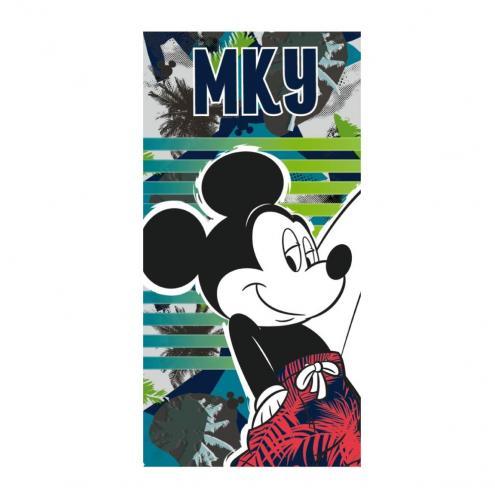 Disney Brand Plážová osuška Micky Mouse, proužky