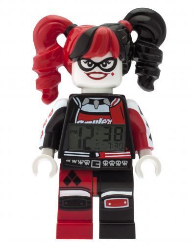 LEGO® Watch & Clock LEGO® BATMAN MOVIE Harley Quinn - hodiny s budíkem