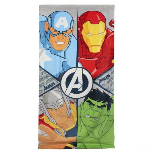 Disney Brand Chlapecká plážová osuška Avengers - barevná