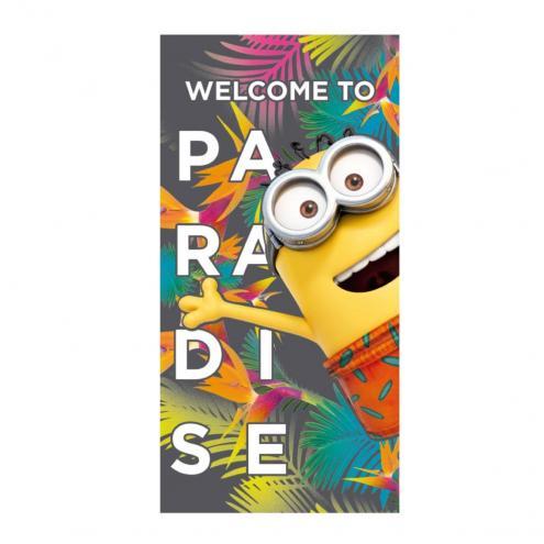 Disney Brand Plážová osuška Mimoni, Mimoň v ráji