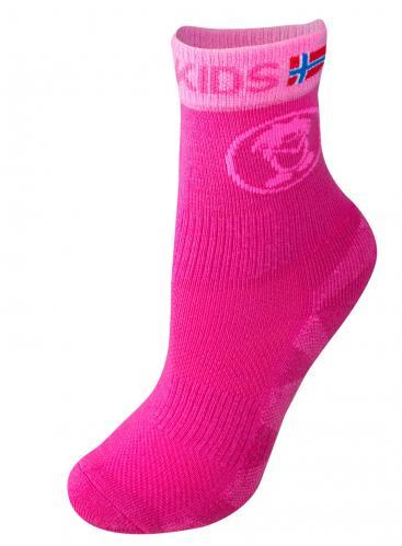 Trollkids Dívčí set 2 párů ponožek Steinkollen - růžový