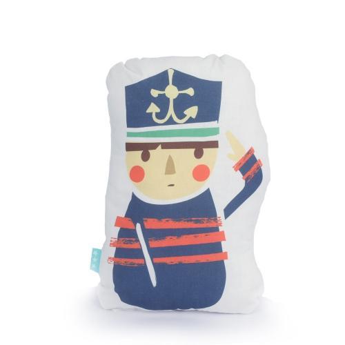 Moshi Moshi Dětský polštář Ahoy There, 40x30 cm
