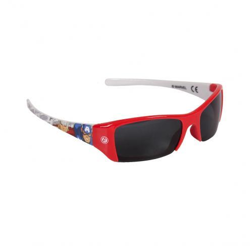 Disney Brand Chlapecké sluneční brýle Avengers - červené