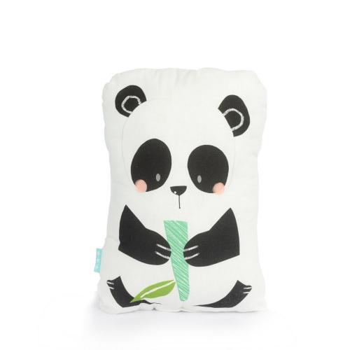 Moshi Moshi Dětský polštář Panda Garden, 40x30 cm