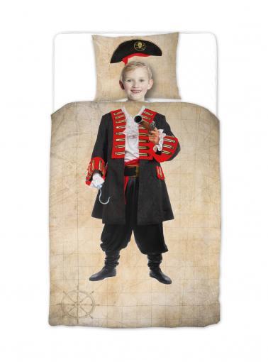 Ekkelboom Dětské povlečení Pirát, 140x200 cm/60x70m cm - barevné